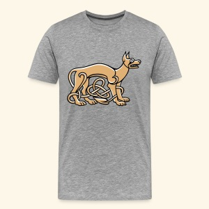 Celtic Dog - Männer Premium T-Shirt