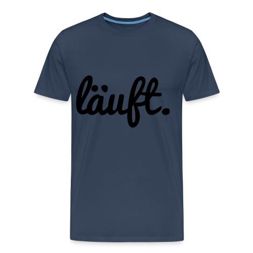 Läuft.-T-Shirt-JudPro - Männer Premium T-Shirt