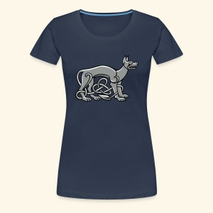 Celtic Dog - Frauen Premium T-Shirt