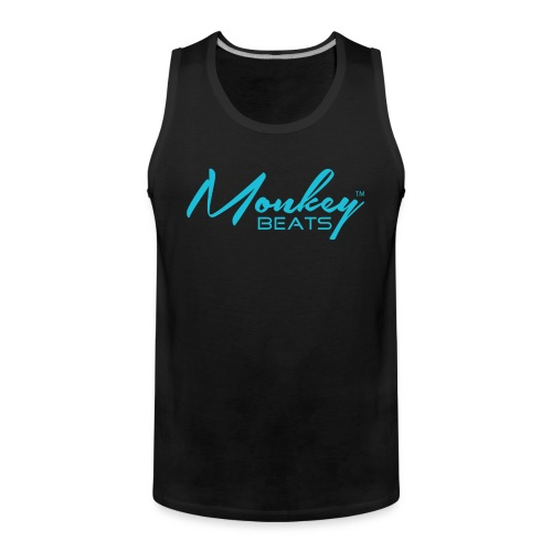 Monkey Beats - Tank Top - Men - Männer Premium Tank Top
