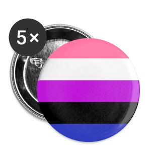 Gender Fluid - Buttons medium 32 mm