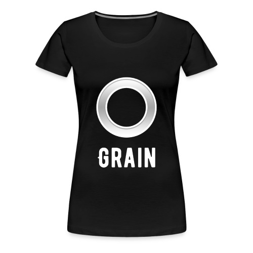 Grain - Logo - T-Shirt | Frauen - Frauen Premium T-Shirt
