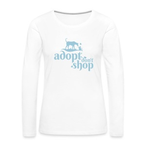 Adopt don't Shop! FAIR Ladies-Longsleeve - Frauen Premium Langarmshirt