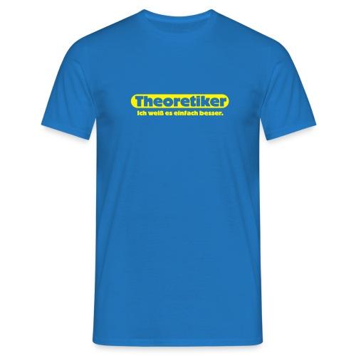 Theoretiker - Männer T-Shirt