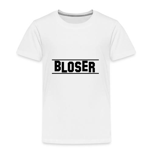 Bloser T- Shirt Black 2 - Kinder Premium T-Shirt