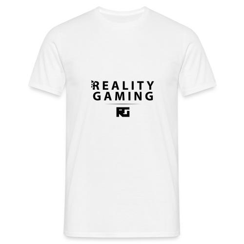 T-shirt RealityGaming logo/texte Noir - T-shirt Homme