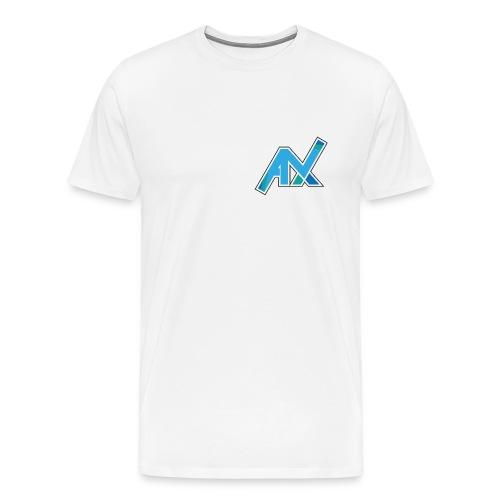 T-Shirt Weiß  - Männer Premium T-Shirt