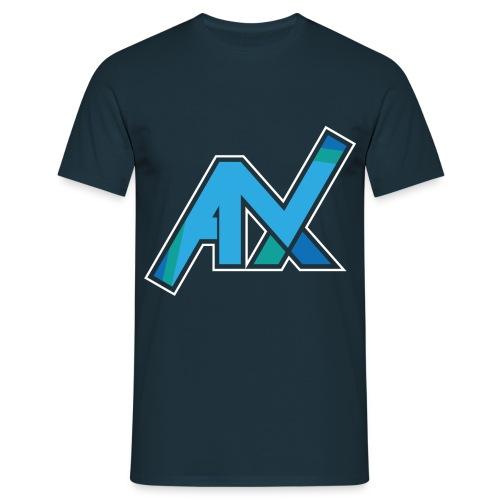 T-Shirt dunkelblau | Großes Logo - Männer T-Shirt