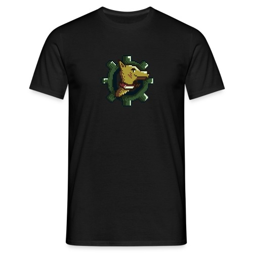Clockwork Hounds v1.0 Meski T-shirt - Koszulka męska