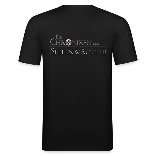 Die Chroniken der Seelenwächter T-Shirt Herren - Männer Slim Fit T-Shirt