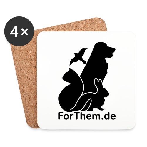 ForThem Untersetzer - Untersetzer (4er-Set)