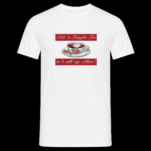 T-Shirt Mit 'n Koppke Tee (verschiedene Farben) - Männer T-Shirt