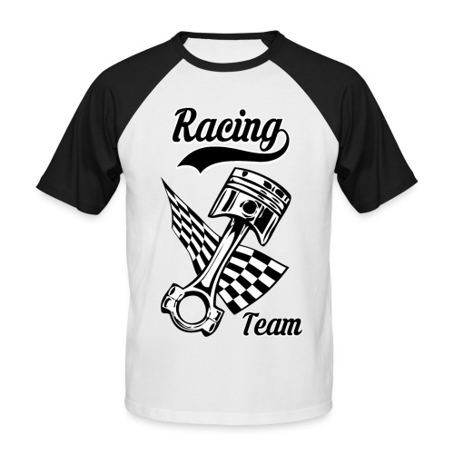 Old Racing team design - Men's Baseball T-Shirt