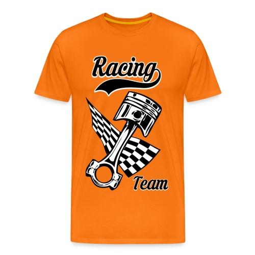 Old Racing team design - Men's Premium T-Shirt