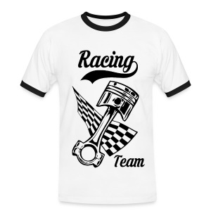 Old Racing team design - Men's Ringer Shirt