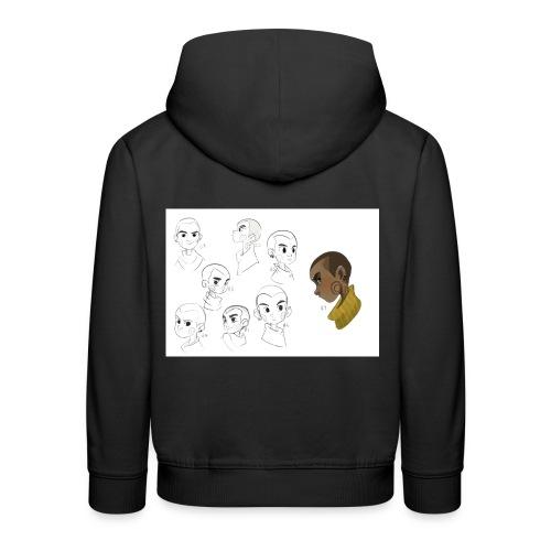 Kenzo Concept Artwork Kids' Premium Hoodie - Kids' Premium Hoodie
