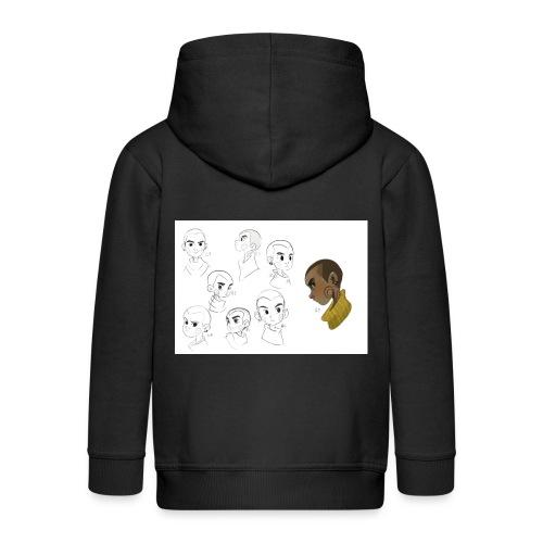 Kenzo Concept Art Work Kids' Zip Hoodie - Kids' Premium Zip Hoodie