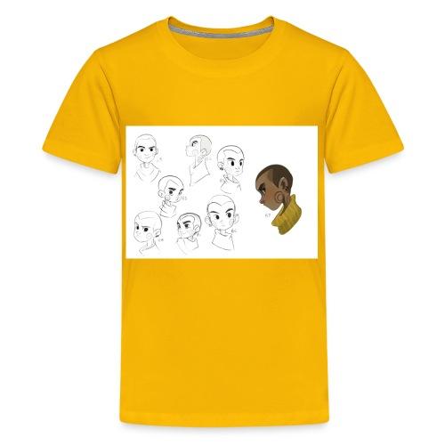 Kenzo Concept Artwork Teenage Premium T-Shirt - Teenage Premium T-Shirt