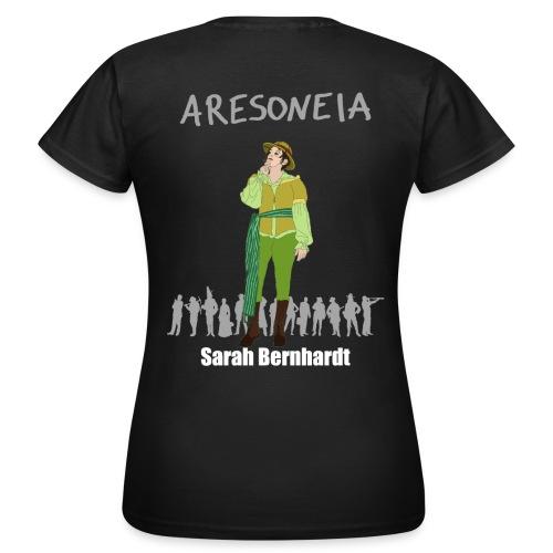 Aresoneia-Bernhardt (Weiß) - Damen-Shirt - Frauen T-Shirt