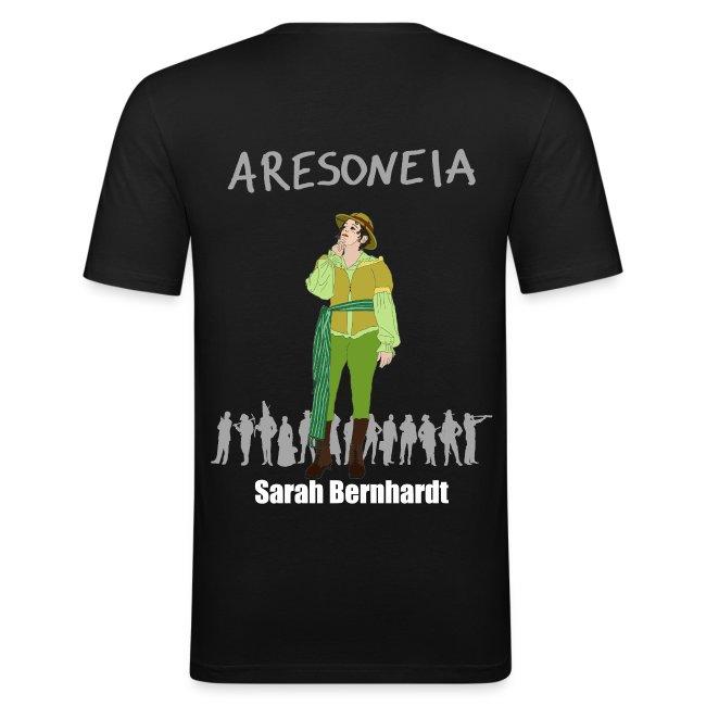 Aresoneia-Bernhardt(Weiß) - Herren-Slim-Fit-Shirt