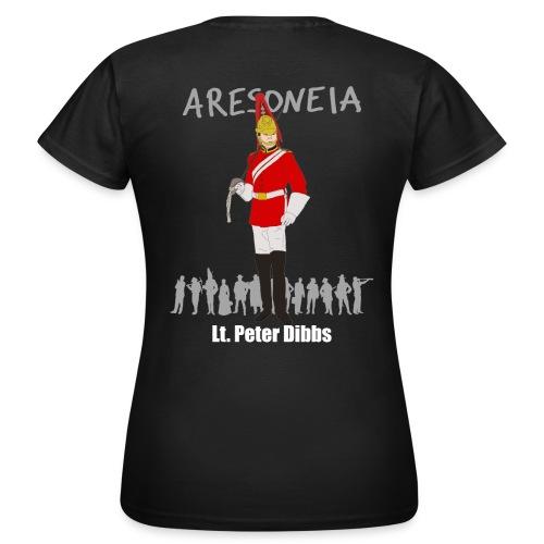 Aresoneia-Dibbs (Weiß) - Damen-Shirt - Frauen T-Shirt