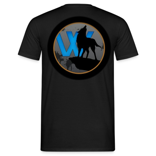 Männer T-Shirt Schriftzug + Logo - Männer T-Shirt
