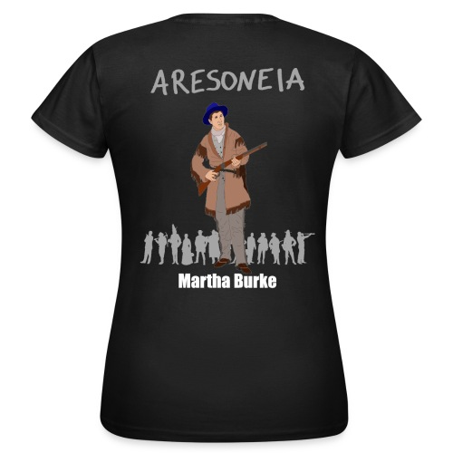 Aresoneia-Burke (Weiß) - Damen-Shirt - Frauen T-Shirt