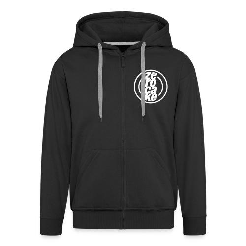 Zerocake Zipped Hoodie - Men's Premium Hooded Jacket