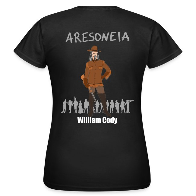 Aresoneia-Cody (Weiß) - Damen-Shirt