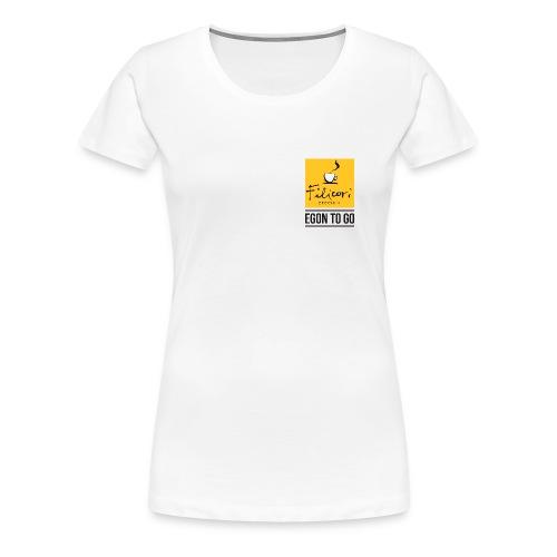 EGON TO GO Damen - Frauen Premium T-Shirt