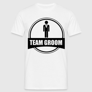 Stag do - Team Groom  - Men's T-Shirt