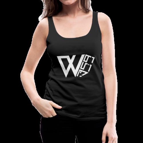 Wolf 359 Logo Female Vest Top - Women's Premium Tank Top