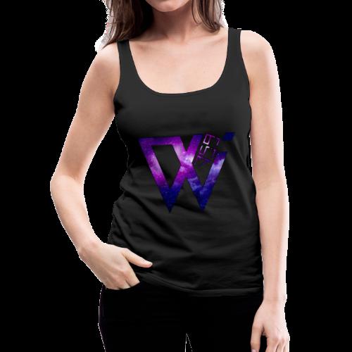Wolf 359 Galaxy Logo Female Vest Top - Women's Premium Tank Top