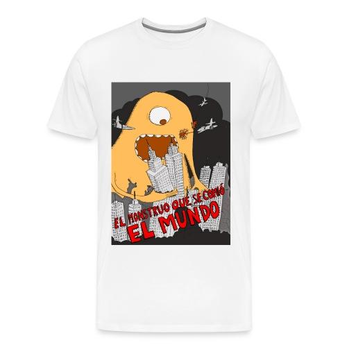 El monstruo que se comio el mundo - Men's Premium T-Shirt