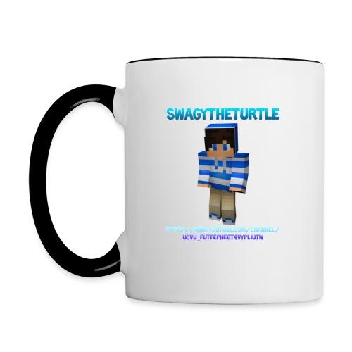 ACCESSORIES - Mug SwagyTheTurtle - Contrasting Mug