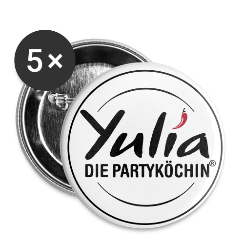 Buttons Yulia - Buttons groß 56 mm (5er Pack)