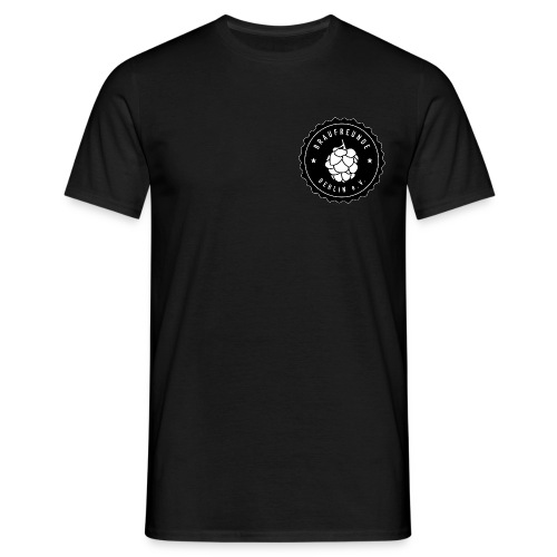 Männer T-Shirt (Logo vorne und hinten) - Männer T-Shirt
