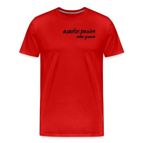 GS asado con passion - Männer Premium T-Shirt