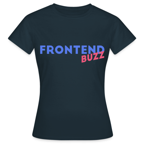 FrontendBUZZ T-Shirt (f) - Frauen T-Shirt