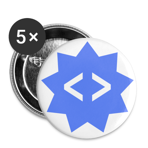 FrontendBUZZ Button Pack (25mm) - Buttons klein 25 mm
