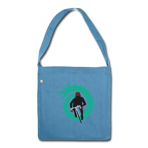 Dragon Hunter Tote - Shoulder Bag made from recycled material