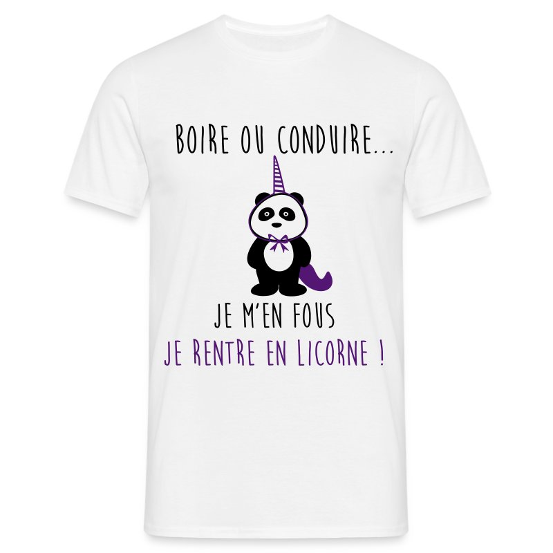 tee shirt je rentre en licorne humour citations spreadshirt. Black Bedroom Furniture Sets. Home Design Ideas