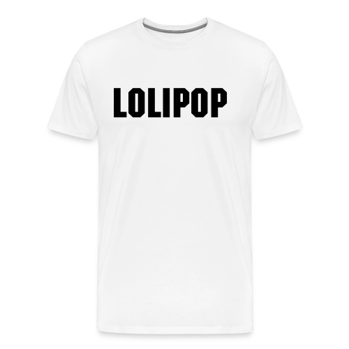 Lolipop white - Men's Premium T-Shirt