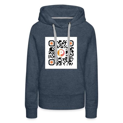 QR-Hoodie  - Frauen Premium Hoodie