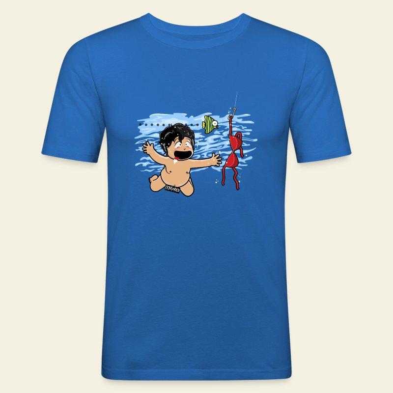 Little perverse - Tee shirt près du corps Homme