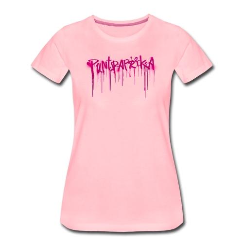 Puntpaprika vrouwen premium - Vrouwen Premium T-shirt