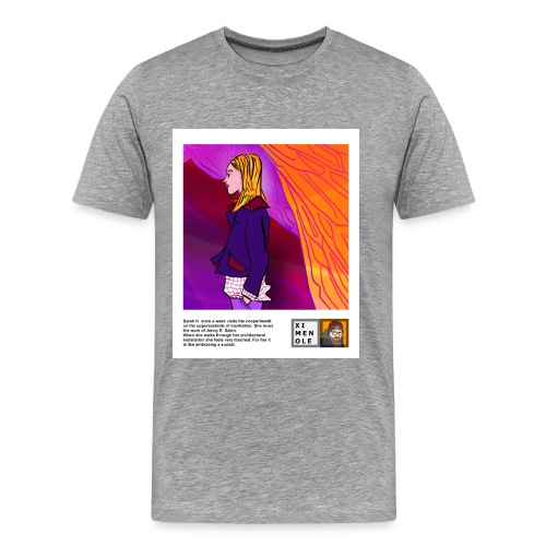 Cooper Hewitt - 03 - Sarah K - Polaroid - Männer Premium T-Shirt