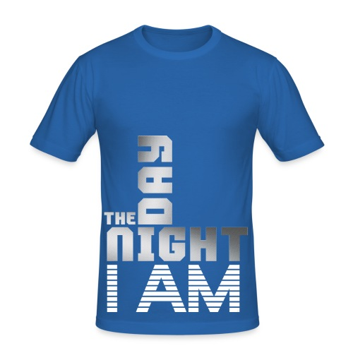 T SHIRT The Day The Night I am by Florian VIRIOT - T-shirt près du corps Homme