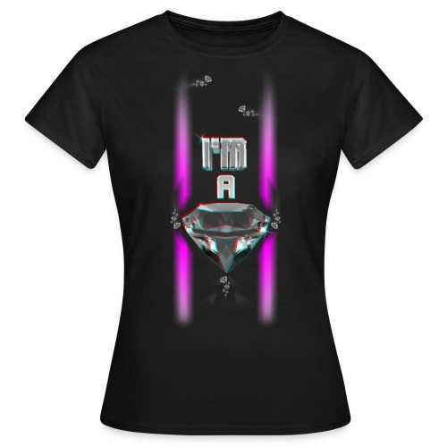 T SHIRT 3D  I'M A DIAMOND by Florian VIRIOT - T-shirt Femme