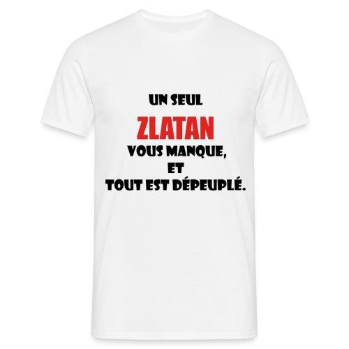 King Zlatan 1 Tee-shirts - T-shirt Homme